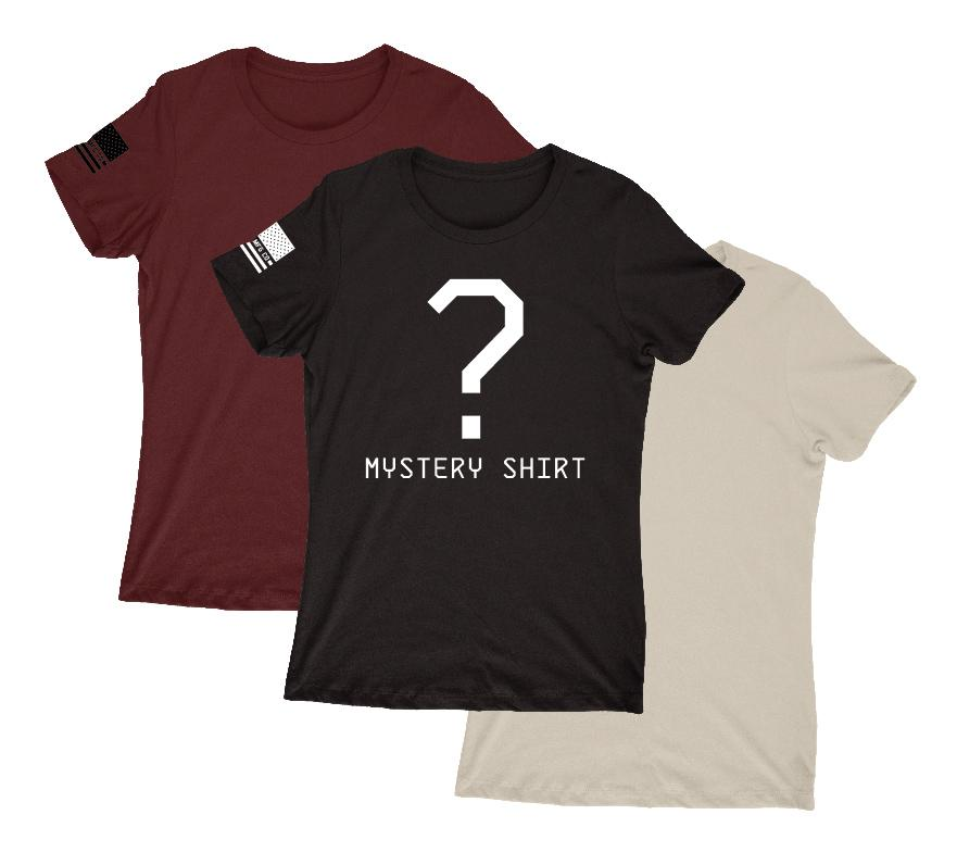 Womens Unassigned - Women's Mystery T-Shirt (3-Pack)