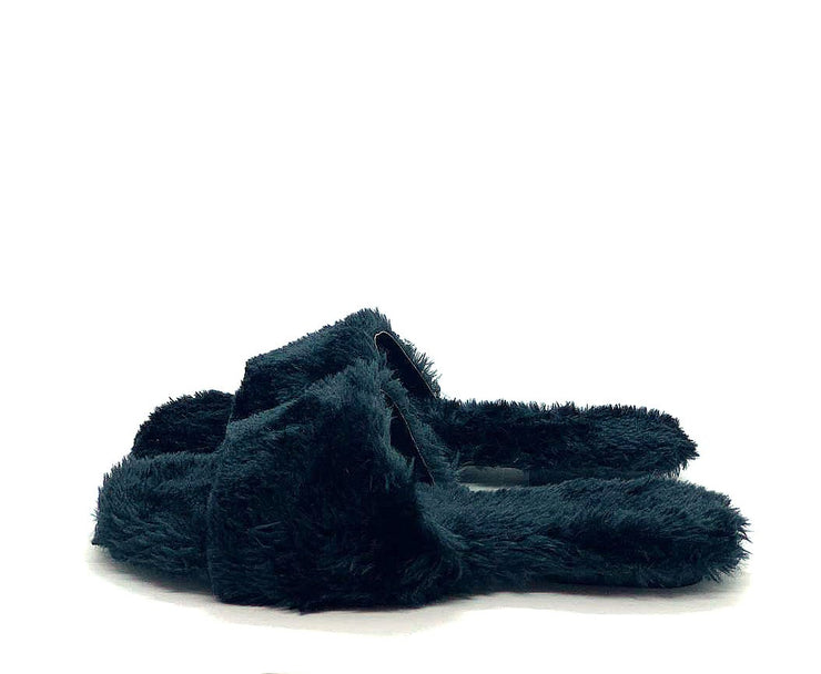Pantufa Slide Mary's Preto