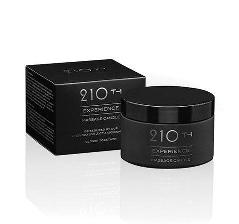 210th EXPERIENCE Massage Candle 200ml - embracedesires | Provocative Pleasure Products & Sensual Accessories