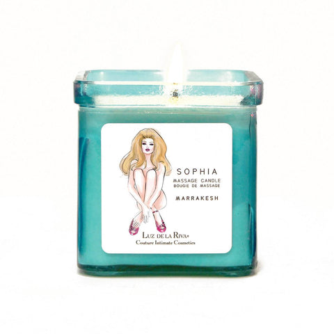 Sophia Massage Oil Candle Marrakesh