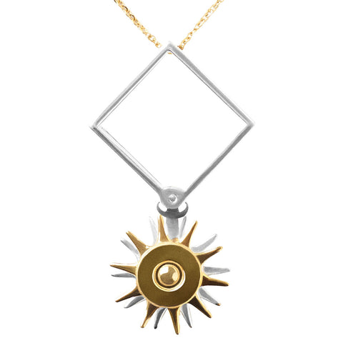 Unbound - Amelia Pinwheel Necklace - embracedesires  - 1