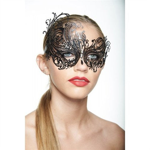 Venetian Black Swan Mask - embracedesires  - 1