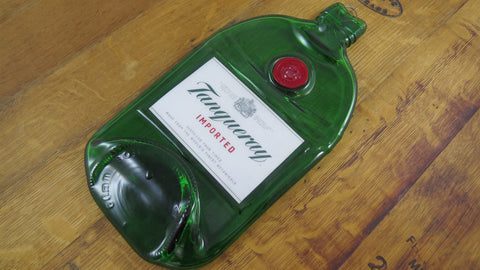 Glass Cheese Board - Tanqueray Gin Bottle - Bottle Crafters - 1