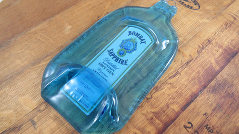 Glass Cheese Board - Bombay Gin - Bottle Crafters - 1