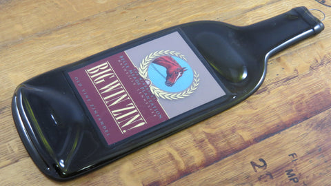 Wine Bottle Cheese Board - Big Win Zin Wine - Bottle Crafters - 1