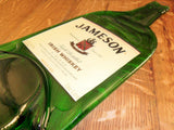 Flattened  Jameson Bottle with Label. - Bottle Crafters - 3