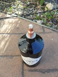 Tiki Torch Crafted From Hendricks Gin Bottle - Bottle Crafters - 2