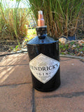 Tiki Torch Crafted From Hendricks Gin Bottle - Bottle Crafters - 1