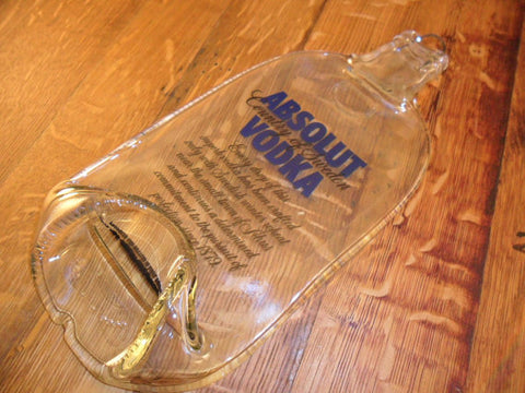 Glass Cheese Board - Bottle Crafters - 1