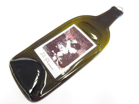 Melted Bottle - The Prisoner Wine Label - Bottle Crafters - 1