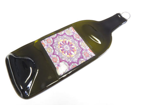 Wine Bottle Appetizer Tray - Art Print - Bottle Crafters - 1