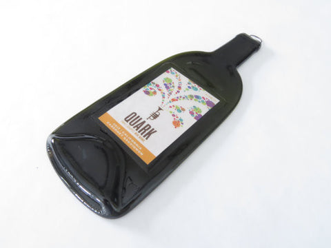 Flat Wine Bottle - 2012 Quark Cabernet - Bottle Crafters - 1