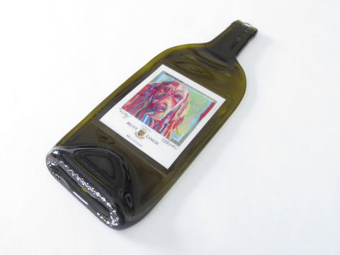 Melted Wine Bottles - Mutt Lynch Meritage - Bottle Crafters - 1