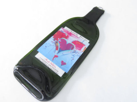 Melted Wine Bottles - Salvatore Principe Heart Within Cabernet Sauvignon - Bottle Crafters - 1