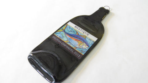 Wine Bottle Cheese Platter Mystic Big Fish Zinfandel 2013 - Bottle Crafters - 1