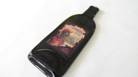 Melted Bottle - Zombie Zin Wine Label - Bottle Crafters - 1