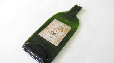 Melted Wine Bottle - Divine Diva Cabernet Sauvignon - Bottle Crafters - 1