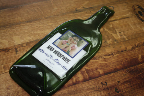Slumped Wine Bottle - Bottle Crafters - 1