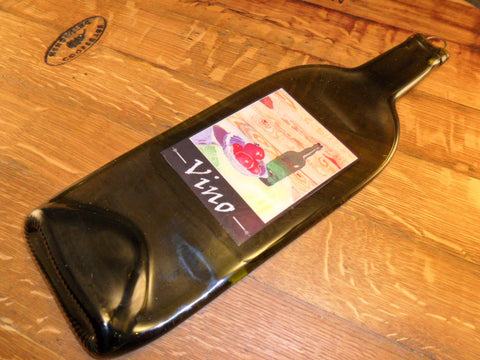 Flat Bottle - Custom Label - Vino - Bottle Crafters - 1