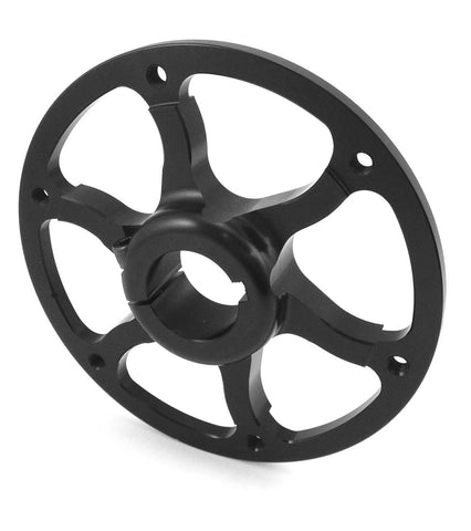 Sprocket Hub - Black Anodized