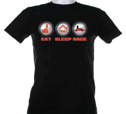 T-Shirt - Eat, Sleep, Race