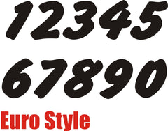 Numbers - Euro Style