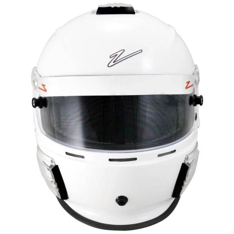 The Zamp RZ-42 racing helmet features include a Kevlar Mix Shell for Super Lightweight Shell Aerodynamics