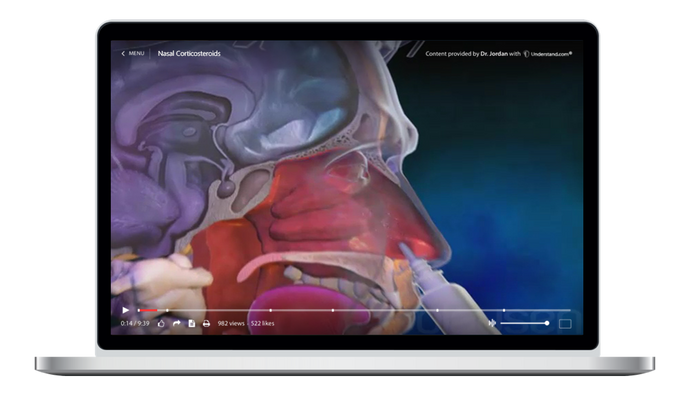 Nasal Corticosteroids Animation