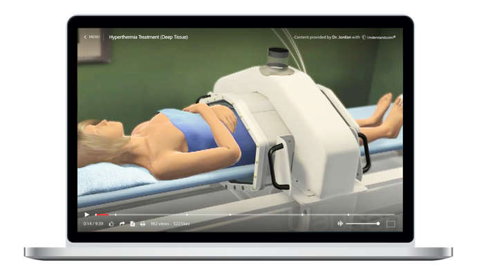 Hyperthermia Treatment (Deep Tissue) Animation