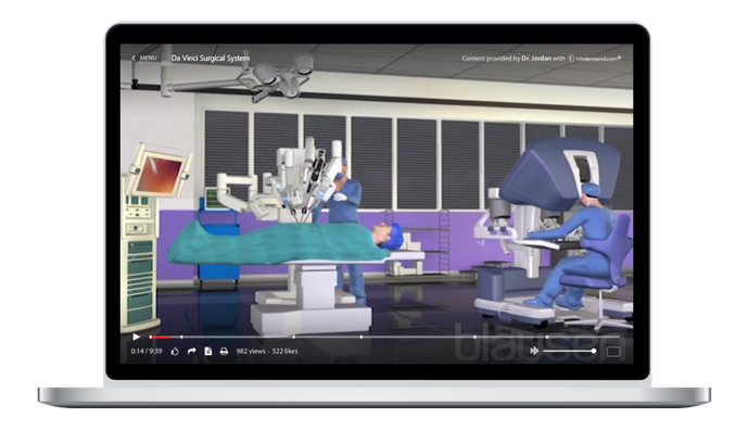 Da Vinci Surgical System Animation