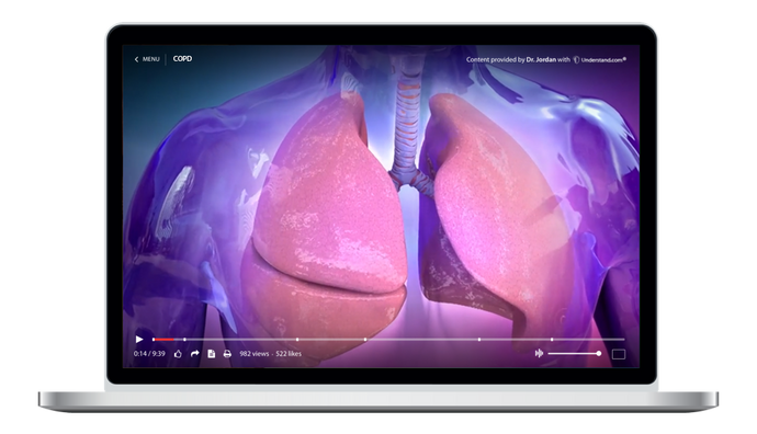 Respiratory System Animation Library