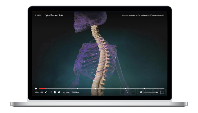Spinal Problem Tests Animation