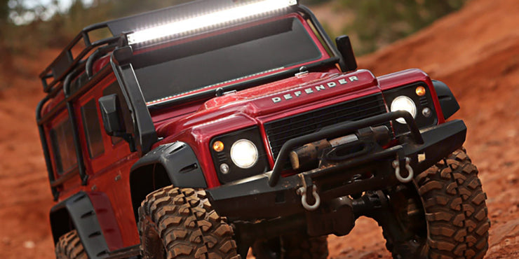 LED headlight tail light kit TRX-4