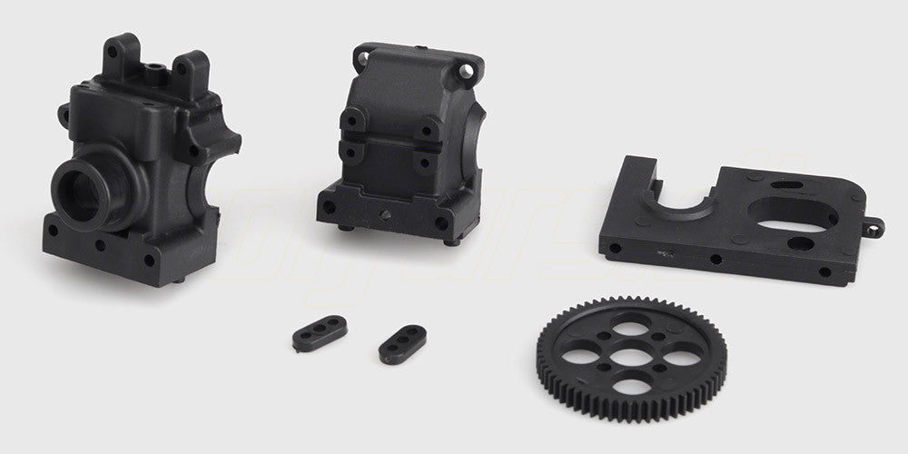 Diff Gearbox Motor Mount Spur Gear