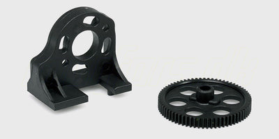 Motor Mount and Spur Gear (69T)