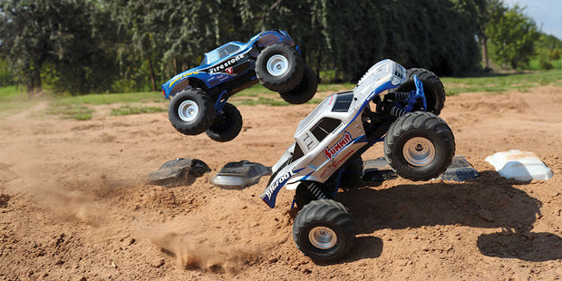 Fjernstyrede Monster Trucks