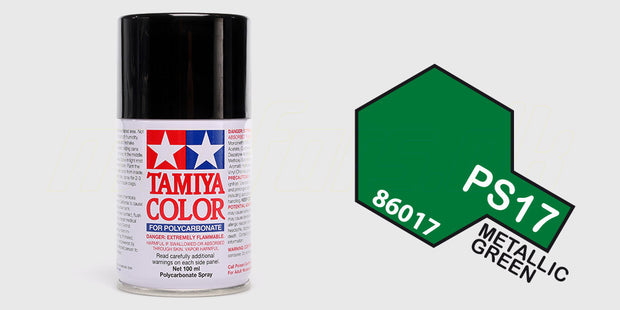 Tamiya Color PS-17 Metallic Green