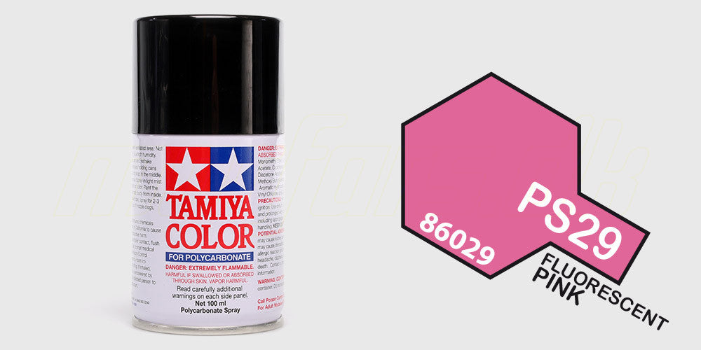 Tamiya Color PS-29 Fluorescent Pink