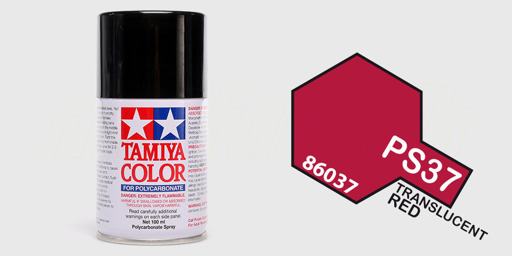 Tamiya Color PS-37 Translucent Red