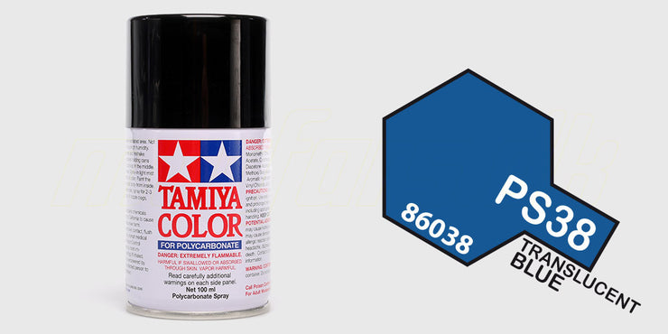 Tamiya Color PS-38 Translucent Blue