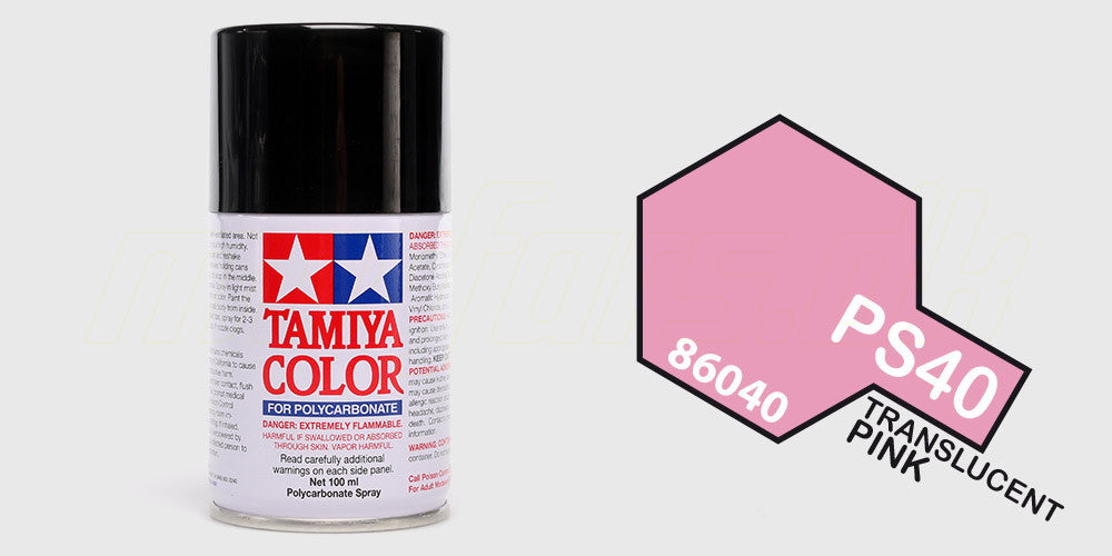 Tamiya Color PS-40Translucent Pink