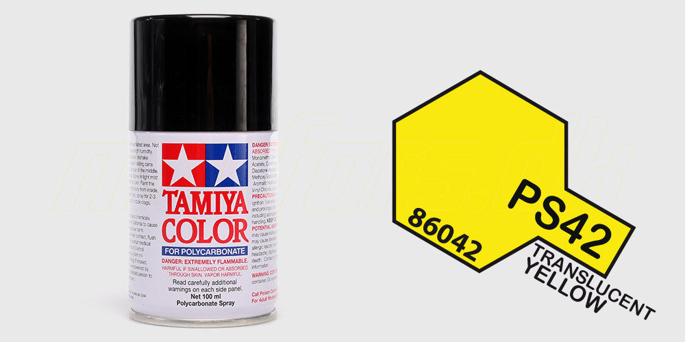 Tamiya Color PS-42 Translucent Yellow
