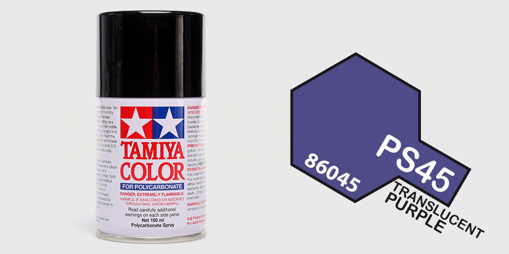 Tamiya Color PS-45 Translucent Purple