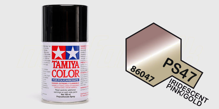 Tamiya Color PS-47 Iridescent Pink Gold
