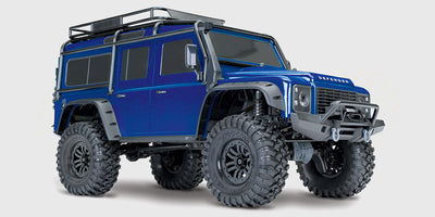 Traxxas TRX-4 metallic blue