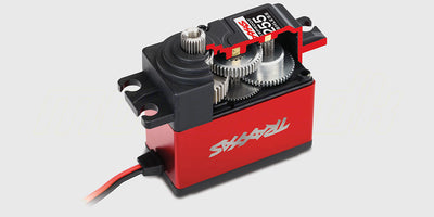 High-Torque 400 Red Brushless Servo