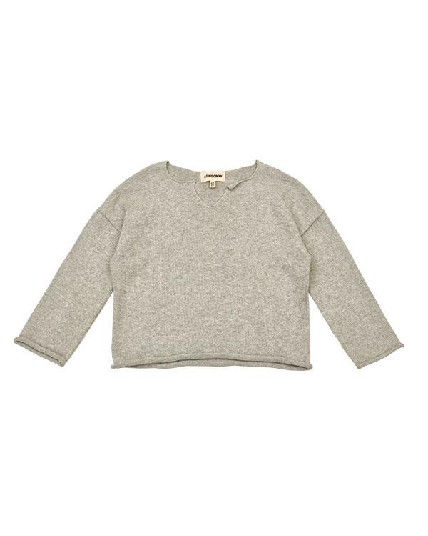 Icelandic design viking sweater in grey