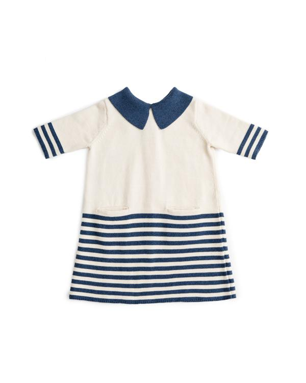 Cotton Striped Sister Dress
