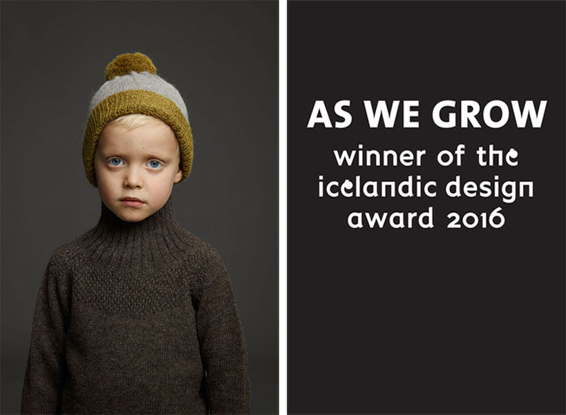 As we grow, receiver of the Iceland design awards 2016.