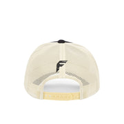 #7 Black Trucker Hat - Fuzion caps